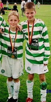 Liam & Anthony at Celtic Academy